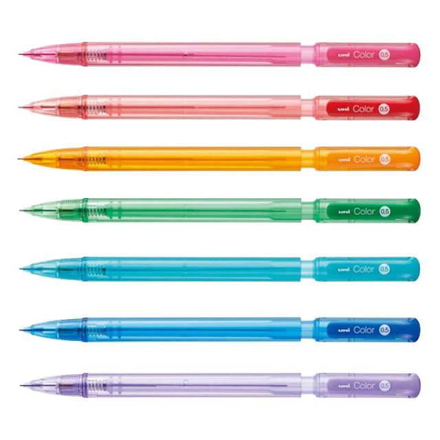 三菱鉛筆 uni カラーシャープ 0.5mm【ネコポスOK】