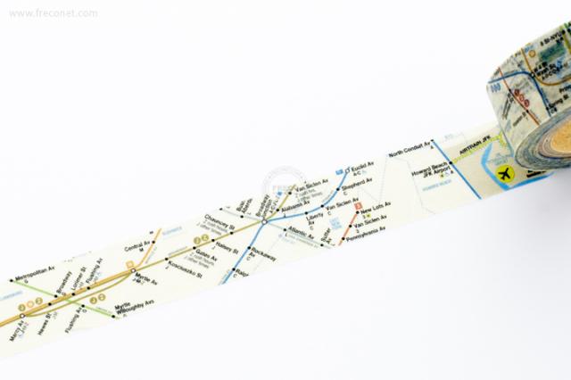 MTAマスキングテープ map(MA-031)【ネコポスOK】