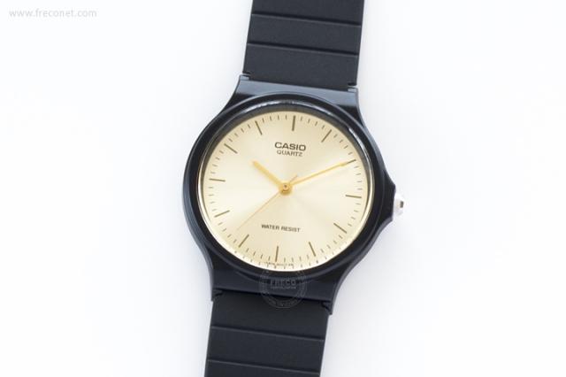 CASIO 腕時計 ラウンド ゴールド(MQ-24-9E)【ネコポスOK】