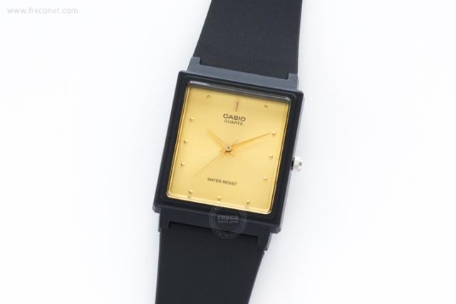 CASIO 腕時計 スクエア ゴールド(MQ-38-9A)【ネコポスOK】
