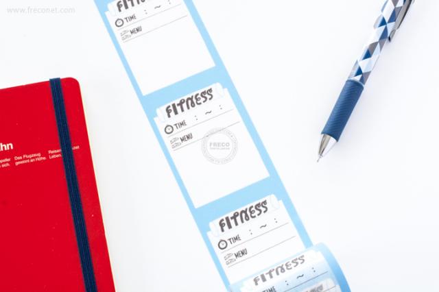 maste ライフログ用マスキングテープ FITNESS(MST-FA02-F)【宅急便配送】
