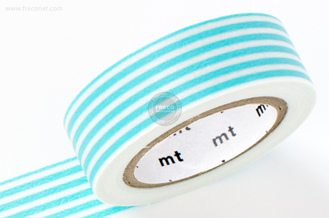 mt ボーダー パステルブルー(MT08D256)【メール便OK】