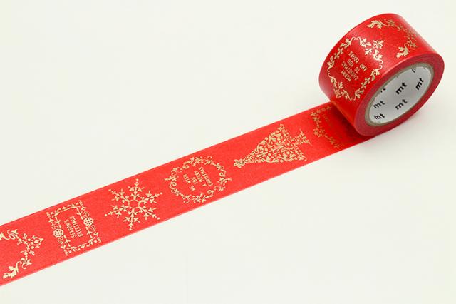 《ご予約商品・11月上旬入荷予定》mtクリスマス2019 装飾活字(MTCMAS105)【ネコポスOK】
