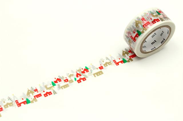 《ご予約商品・11月上旬入荷予定》mtクリスマス2019 森のお家(MTCMAS107)【ネコポスOK】