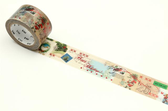 《ご予約商品・11月上旬入荷予定》mtクリスマス2019 サンタクロースからの手紙(MTCMAS108)【ネコポスOK】