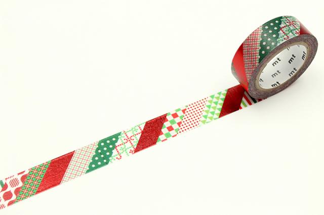 《ご予約商品・11月上旬入荷予定》mtクリスマス2019 クリスマスストライプ(MTCMAS109)【ネコポスOK】