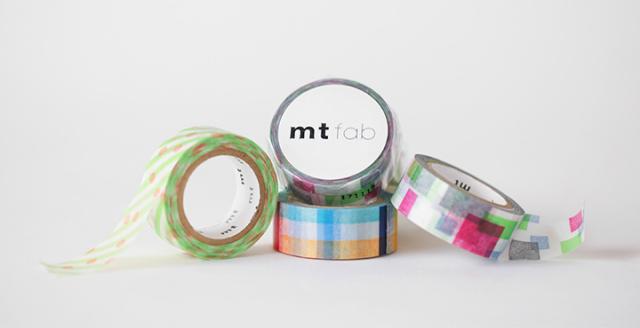 mt 2018SS/mt fab 両面印刷テープ(全3柄)【ネコポスOK】