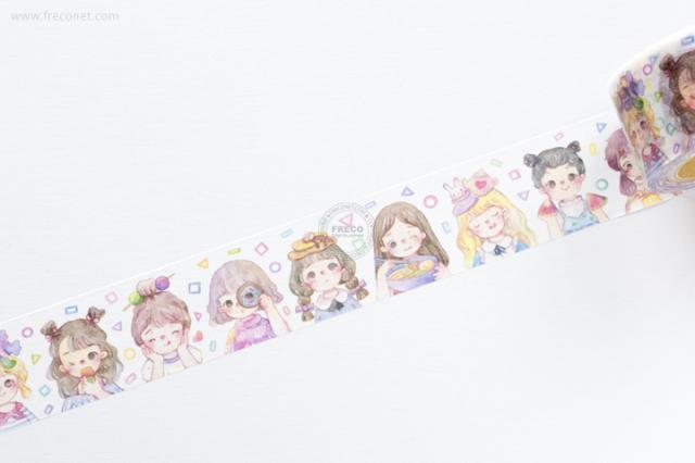 Milky典典マスキングテープ 饞寶寶(MTO-501320)【宅急便配送】