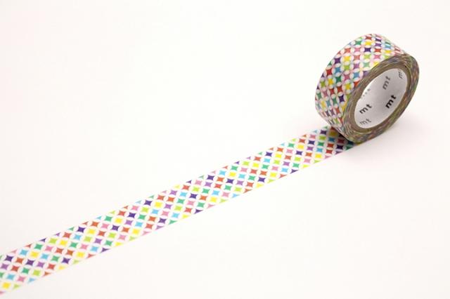 mt fabパールテープ キラキラサークル(MTPL1P02)【ネコポスOK】