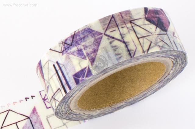 小徑文化×夏米花園マスキングテープ 第4弾 摺紙(MTW-CH034)*日本製【ネコポスOK】