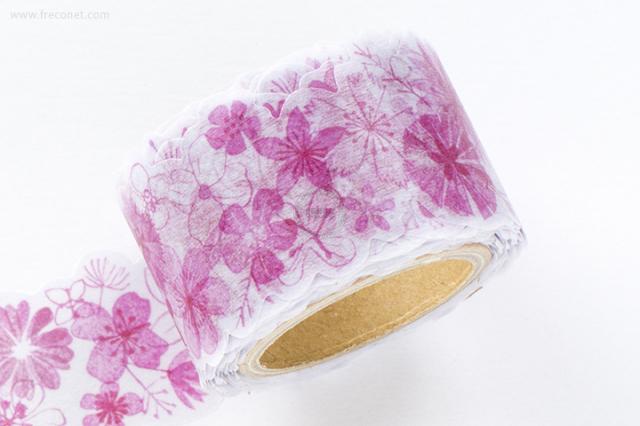 小徑文化 x 夏米花園マスキングテープ 第6弾 紅花(MTW-CH062)【宅急便配送】