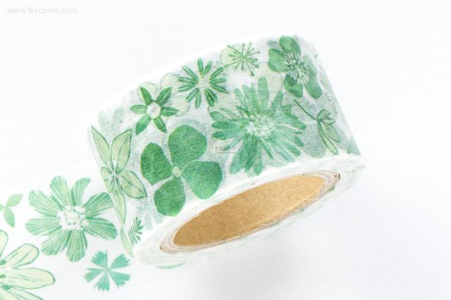 小徑文化 x 夏米花園マスキングテープ 第6弾 緑花(MTW-CH064)【宅急便配送】