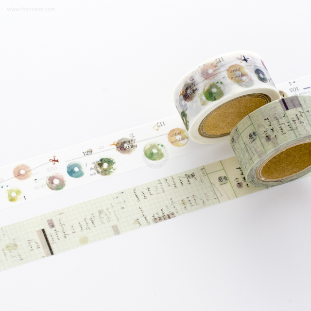 小徑文化×夏米花園マスキングテープ 5th Anniversary おまとめパック(MTW-CH269~270)【ネコポスOK】