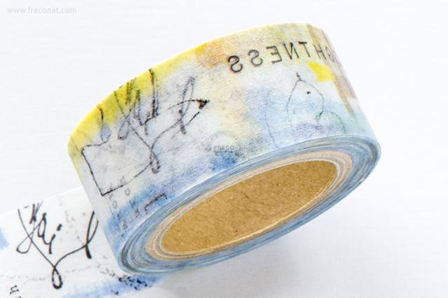 小徑文化×涼丰 Liang Feng マスキングテープ Sea(MTW-LF006)【ネコポスOK】