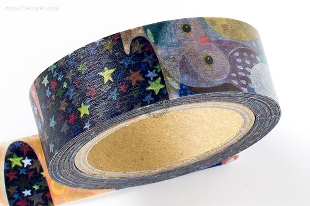小徑文化×馬里斯マスキングテープ 馬里斯的異想世界(MTW-MA002)*日本製【ネコポスOK】