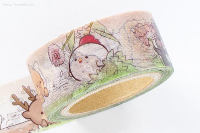 小徑文化 x 插畫家聯名系列マスキングテープ(MTW-SH001)【ネコポスOK】