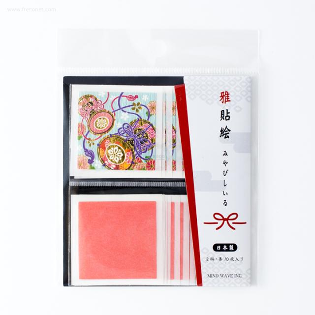 雅貼絵フレークシール 鼓(75693)【ネコポスOK】