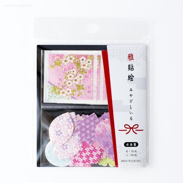 雅貼絵フレークシール 桜(75694)【ネコポスOK】