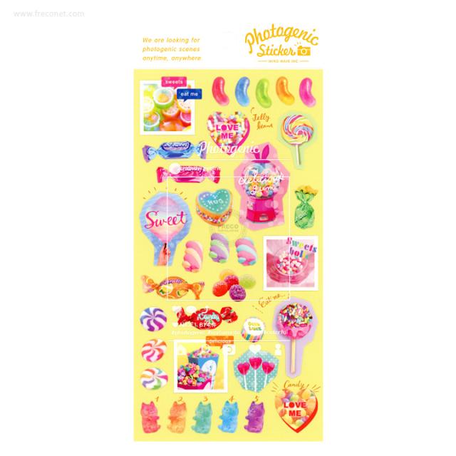 フォトジェニックステッカー Kawaii candy(78843)【クロネコDM便OK】