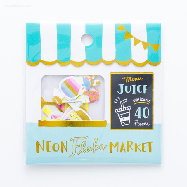 ネオンフレークマーケット Juice shop(79462)【ネコポスOK】