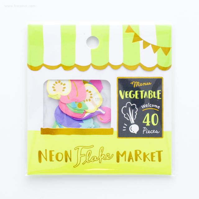 ネオンフレークマーケット Vegetable shop(79466)【ネコポスOK】