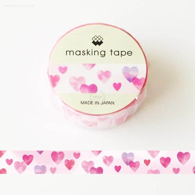 MWマスキングテープ すいさいハート(94175)【ネコポスOK】
