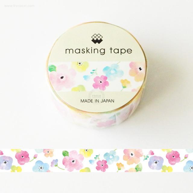 MWマスキングテープ すいさいフラワー(94176)【ネコポスOK】