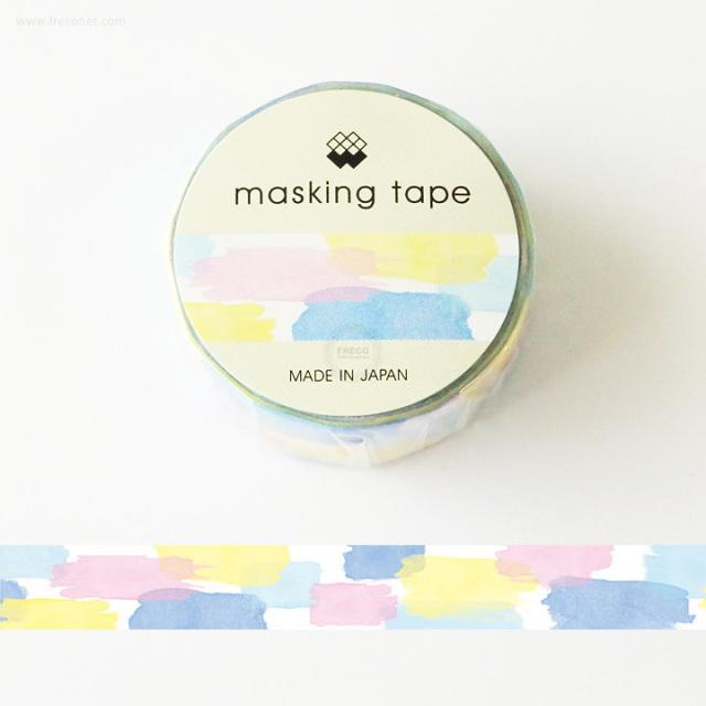 MWマスキングテープ すいさいパターン(94180)【ネコポスOK】