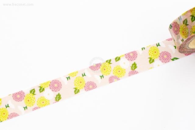 おいわいのしマスキングテープ 菊枝(OG-072)【ネコポスOK】