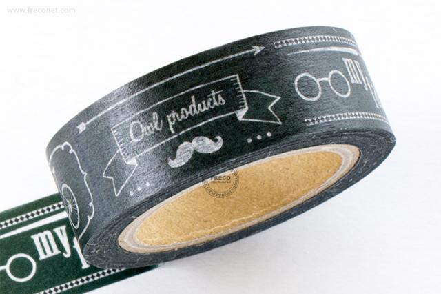 GreenFlashマスキングテープ chalk(OW-056)【ネコポスOK】