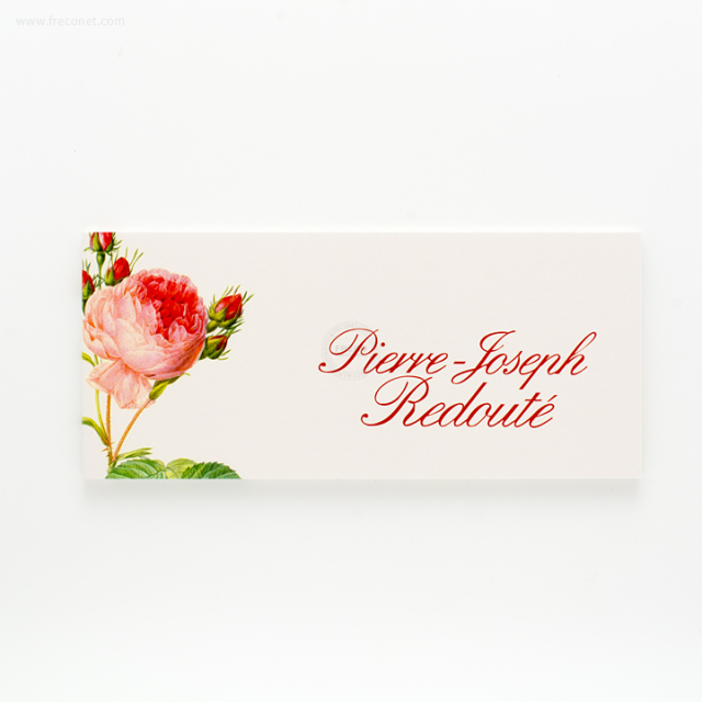 ルドゥーテ 一筆箋 Rosa Centifolia【ネコポスOK】