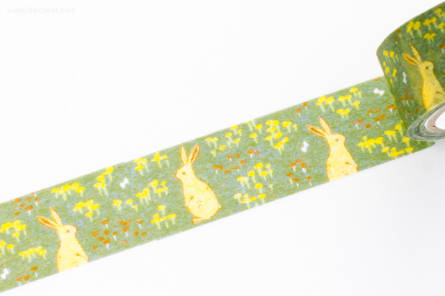 プロペラスタジオマスキングテープ rabbit(PMT-008)【クロネコDM便OK】