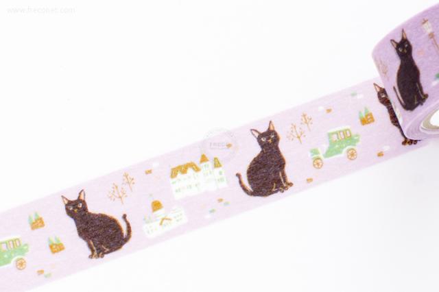 プロペラスタジオマスキングテープ cat(PMT-009)【クロネコDM便OK】
