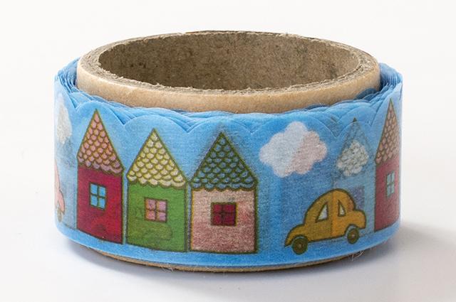 でこがたのマスキングテープ ハウス(PN-1831-34-18)【ネコポスOK】