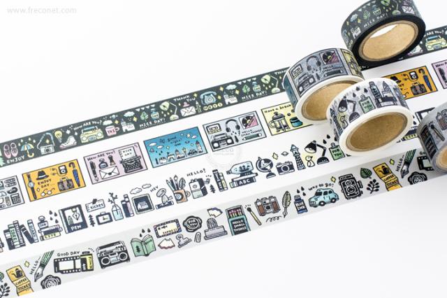 ericマスキングテープおまとめパック(37-633・634・635・624)【クロネコDM便OK】