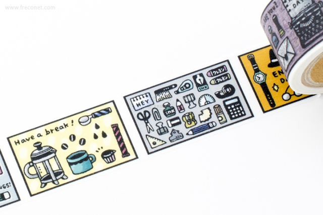 ericマスキングテープ Days(37-633)【クロネコDM便OK】