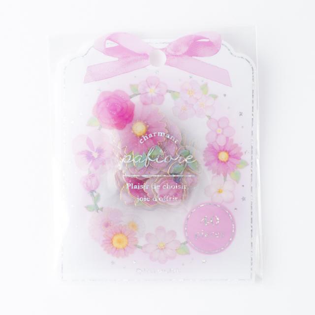 パフィオーレフレークシール ピンク(31153)【ネコポスOK】