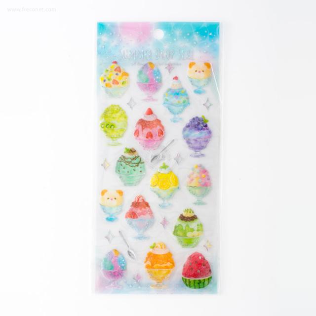 サマードロップシール かき氷(31195)【ネコポスOK】