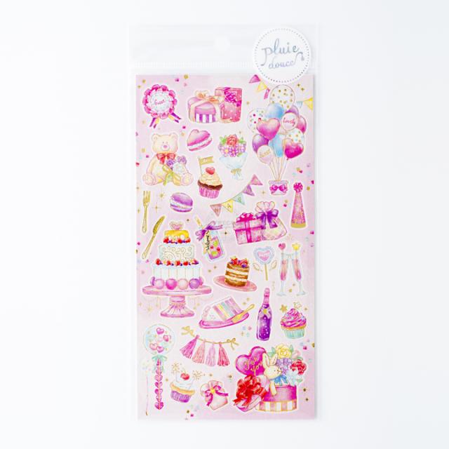 プリュイドゥースシール Pink Party(79572)【ネコポスOK】