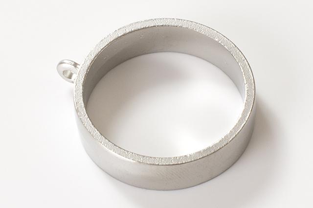 円型空枠 シルバー(RSP-77PS)【ネコポスOK】