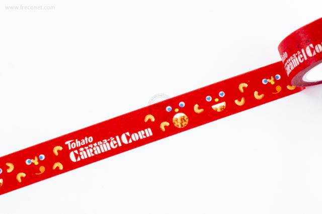 おやつマスキングテープ キャラメルコーン(43414501)【ネコポスOK】