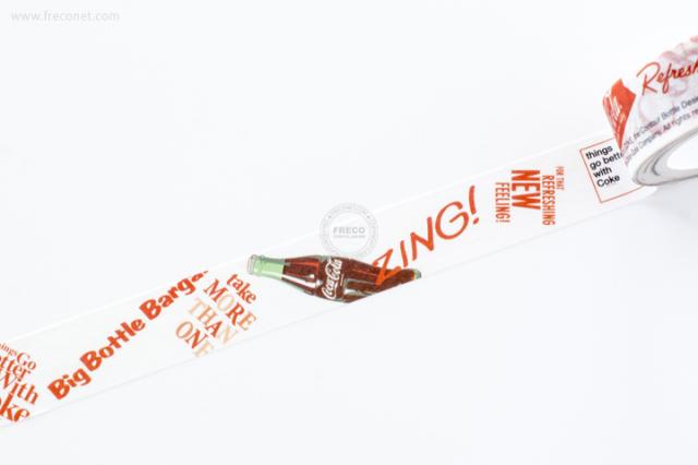 おやつマスキングテープ コカ・コーラ(45224401)【ネコポスOK】