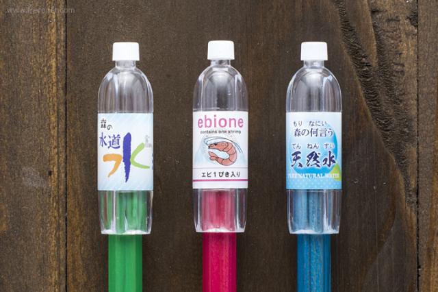 ペットボトル型鉛筆キャップ ピンク(72042801)【ネコポスOK】