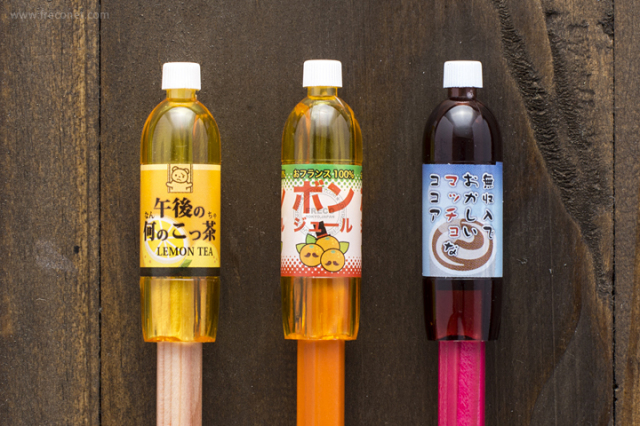 ペットボトル型鉛筆キャップ グリーン(72042901)【ネコポスOK】