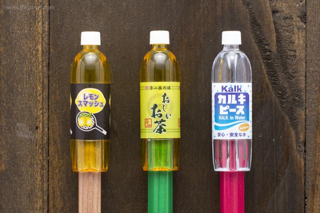 ペットボトル型鉛筆キャップ ブルー(72043001)【ネコポスOK】