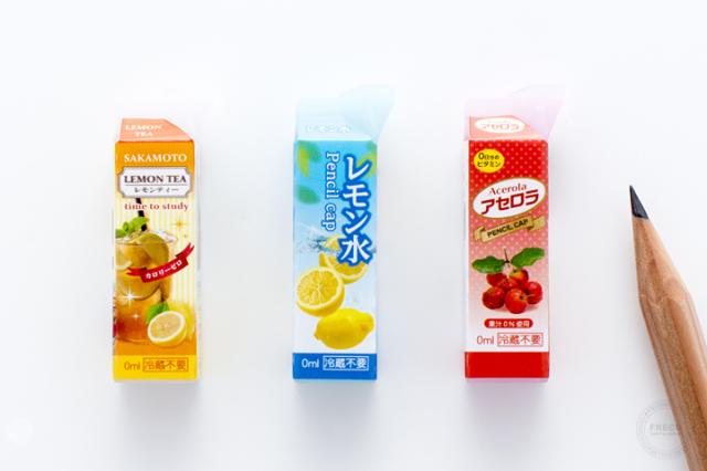 紙パック型鉛筆キャップ ビタミンC 【ネコポスOK】