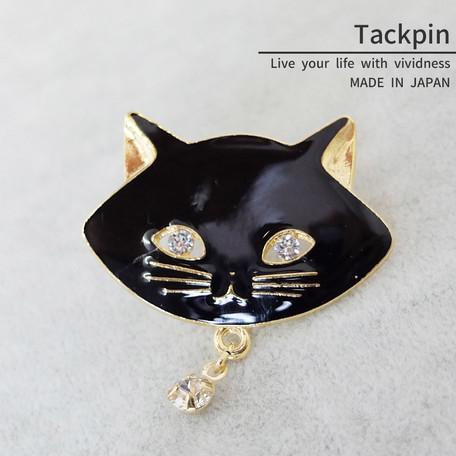 タックピン 猫【ネコポスOK】