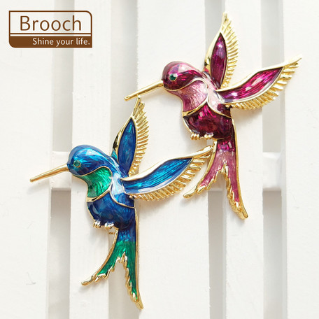 ブローチ 鳥【ネコポスOK】
