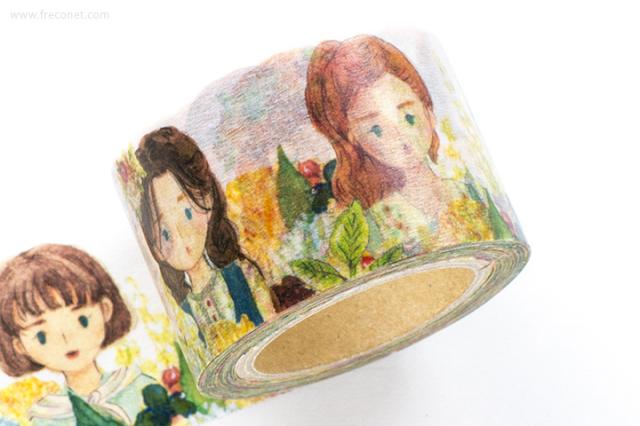 童樂マスキングテープ Florist Girl【宅急便配送】