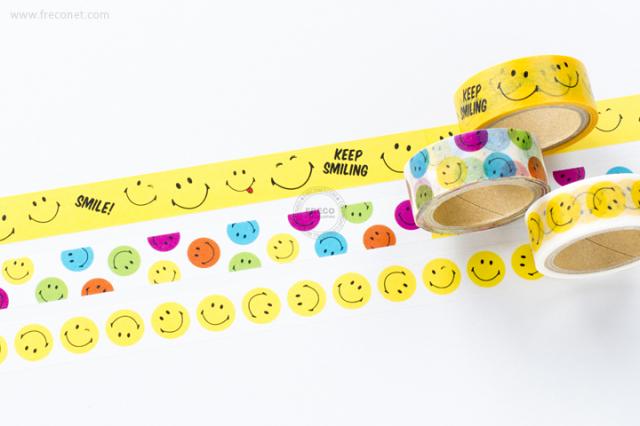 SMILEYマスキングテープおまとめパック(TS-28~30)【ネコポスOK】